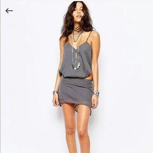 One Teaspoon St Malo XXS grey dress
